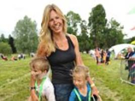 ben fogle's wife on why she lets children play with knives