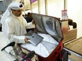 laptop ban on flights from six countries to be scrapped