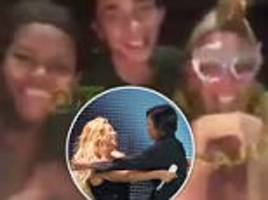 video emerges of michelle obama at beyoncé's party