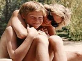 william shows harry 'sweet' photo of his brother