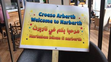 How a small Welsh town gave refugees a home