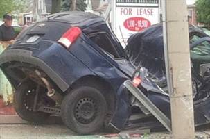 """UPDATE: Driver facing charges in violent Hamilton Mountain crash:""""The woman crawled out somehow,"""" says Tracy Vrkljan, who stopped to help"""