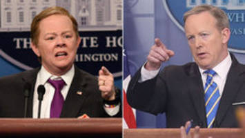 Sean Spicer thought 'SNL' skits were 'funny'