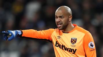 Darren Randolph: Middlesbrough close to signing West Ham keeper