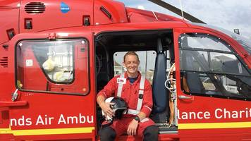 midlands air ambulance: the paramedic who is flown in to save lives