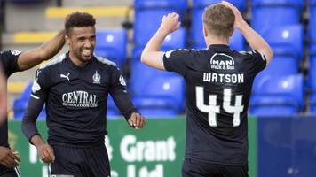 scottish league cup: falkirk beat ict, hearts, dunfermline and dundee win