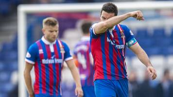 inverness ct: john robertson issues warning to players after loss to falkirk