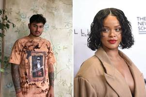 Derbyshire fashion designer Dhillan Bhardwaj approached to make T-shirt for Rihanna