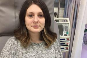 Kimberley, 27, hoping £100k treatment in Germany will save her life