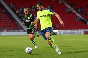 'massive' competition for places up front, says derby county striker