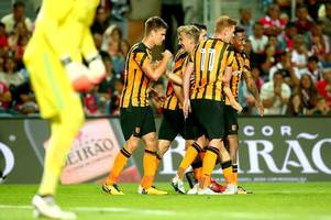 hull city prove resilience with 1-0 win over benfica in portugal