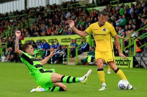 bristol rovers fall to disappointing defeat to forest green rovers less than 24 hours after returning from portugal