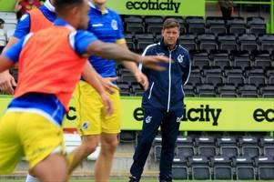 bristol rovers manager darrell clarke willing to excuse his players after lacklustre defeat to forest green rovers