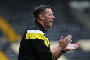 kevin nolan says notts county have plenty of work to do after admitting frustration of conceding poor goals in defeat to wigan