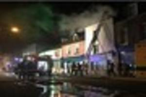 pictures and video show extent of a huge fire in ramsgate