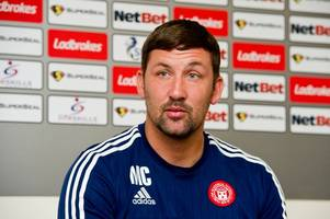 accies boss martin canning: betfred cup games are a good work out