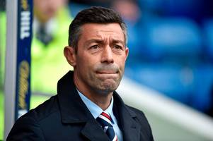 rangers boss pedro caixinha admits his side need to sharpen up in front of goal after draw with marseille