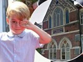 Which surname will Prince George adopt for school?