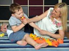autistic boy with pica disorder can't stop eating plastic