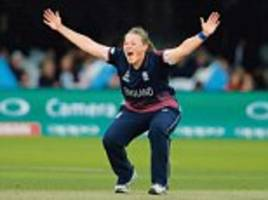 England Women's Cricket team win World Cup over India
