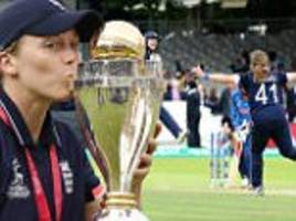 England win World Cup after dramatic victory over India