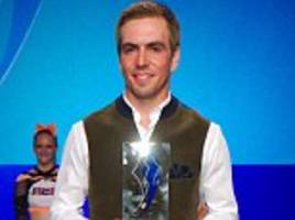 Philipp Lahm wins Germany Footballer of the Year