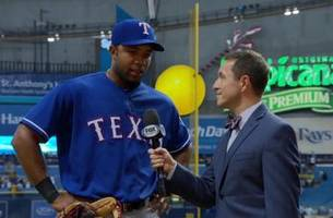 Ken Rosenthal interviews Elvis Andrus after his big night against the Rays