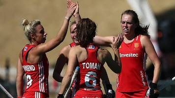 Women's Hockey World League: England beat Argentina 5-2 to take bronze