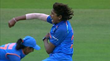women's world cup final: england's sarah taylor and fran wilson fall in successive balls