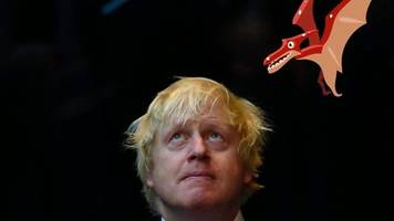 firm creates dinosaurs for tim burton and boris johnson