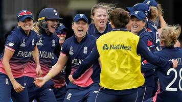 women's world cup: the moment england won thrilling final against india