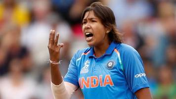 Women's Cricket World Cup: Goswami finishes on figures of 3-23