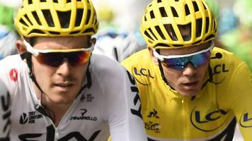 Tour de France: Dave Brailsford hails Luke Rowe after Chris Froome win