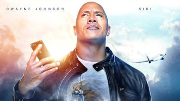 Dwayne Johnson and Apple made a Siri movie