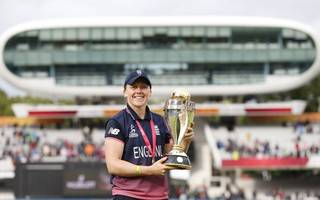 skipper heather knight wants world cup victory to inspire