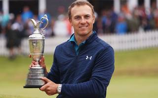 spieth shows guts and guile to win his third major at the open