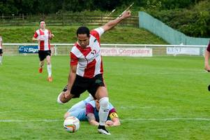 Striker makes impact after stepping up from Hellenic League