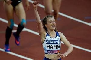 nottinghamshire's sophie hahn smashes her own world record to take gold at the world para athletics championships