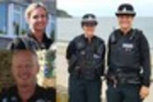 cornwall's bravest police officers, staff and citizens honoured...