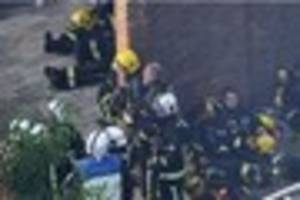 grenfell tower firefighters fundraiser to bring crews to cornwall