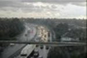 M25 Dartford Crossing delays expected for FIVE HOURS after...