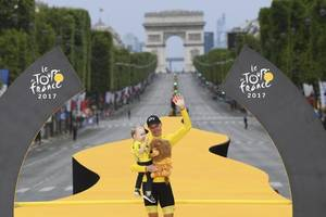 tour de france 2017: chris froome wins for fourth time in five years