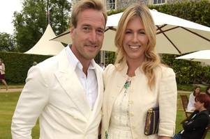 ben fogle's wife marina set up accident so daughter fell down the stairs - to teach her a life lesson about fear