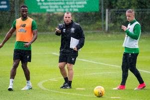 celtic boss brendan rodgers still looking for way to play moussa dembele and leigh griffiths in same team