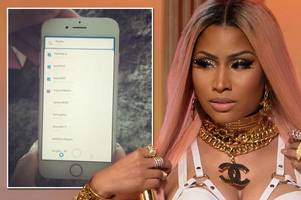 nicki minaj pleads with fans to stop calling after she gets snapchat and inputs wrong privacy settings