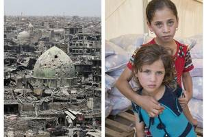 'they've seen things no child should ever see' scottish charity workers in devastated city of mosul struggle to help traumatised orphans