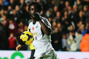 come back wilfried bony, score more goals for swansea! fans delighted as club given permission to speak to manchester city striker