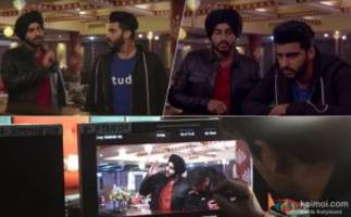 video alert! making of karan singh & charan from mubarakan