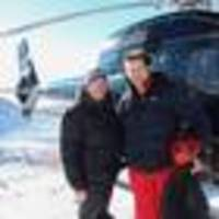 richie mccaw choppers in to help with avalanche control at porters ski area