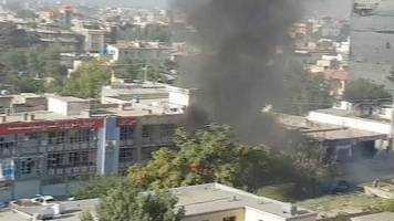 Kabul car bomb: Suicide attack in Afghan capital